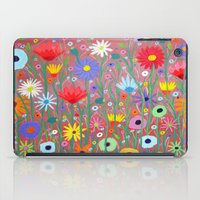 Flowers-Abstracts  iPad Case