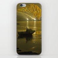 Forth Road Bridge, At Ni… iPhone & iPod Skin