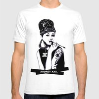 Audrey Hepburn. Rebel: Chola. Mens Fitted Tee White SMALL
