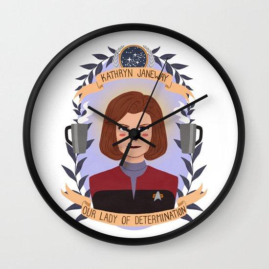 Kathryn Janeway Wall Clock