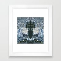 Crystaux Framed Art Print