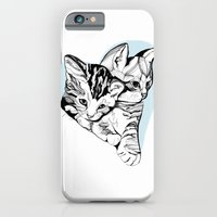 iPhone & iPod Case featuring Kitten Love by Kathryn Repas
