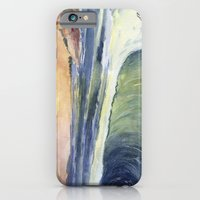 High Tide At Sunset iPhone 6 Slim Case