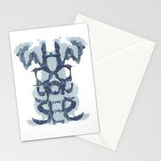 Typography Psychology Stationery Cards
