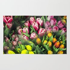 Tulips At Market Rug