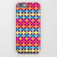 candy diamonds iPhone 6 Slim Case