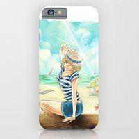 iPhone & iPod Case featuring summer time by Moonsia