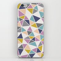 Faceted Heart iPhone & iPod Skin