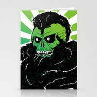 Bearded Skull Stationery Cards