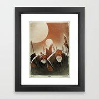 Fallen: II. Framed Art Print