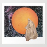 Death Of Planet Art Print