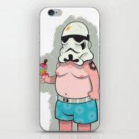 Trooper White iPhone & iPod Skin