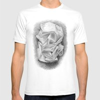 Drape Mens Fitted Tee White SMALL