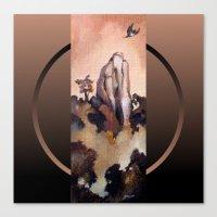Flight Of The Kukupa Canvas Print
