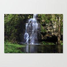 Swallet Falls Canvas Print