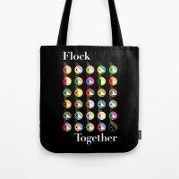 Flock Together Tote Bag