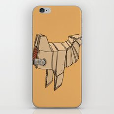 Space Chicken iPhone & iPod Skin