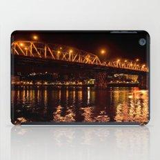 hawthorn bridge iPad Case