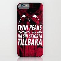 Twin Peaks Ringde iPhone 6 Slim Case
