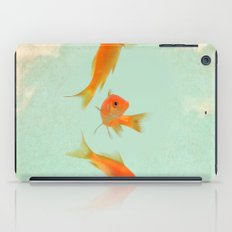 Goldfish in the sky iPad Case