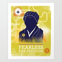 FEARLESS: For Freedom Art Print