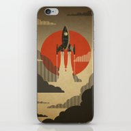 The Voyage (Grey) iPhone & iPod Skin