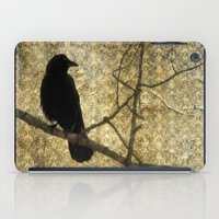 Crow Of Damask iPad Case