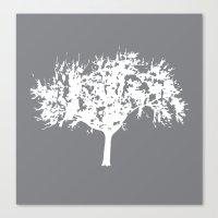 Reverse Tree Canvas Print