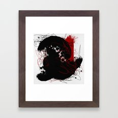 Random #4 Framed Art Print