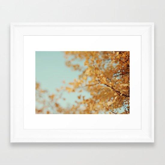 Ginkgo #6 Framed Art Print