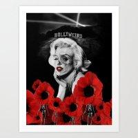 Hollyweird. Art Print