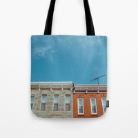 Federal Hill Homes Tote Bag