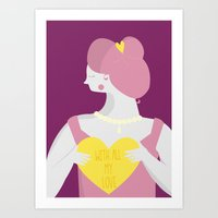 With All My Love  Art Print
