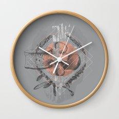 Faint  Wall Clock