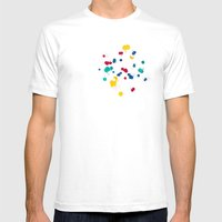 happy confetti Mens Fitted Tee White SMALL