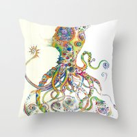 The Impossible Specimen … Throw Pillow