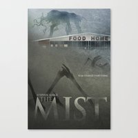 The Mist Poster Canvas Print