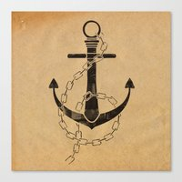 Anchor Print Canvas Print