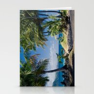 Welcome To Paradise Stationery Cards