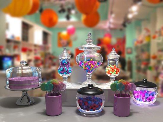 Candy Shop Still Life Canvas Print