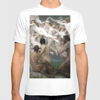Antiquity Mens Fitted Tee White SMALL