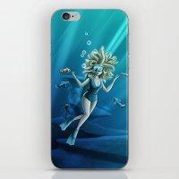 Deep Sea Feelings (Evolve) iPhone & iPod Skin