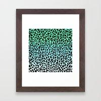 Cool Leopard Framed Art Print