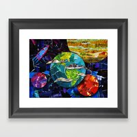 Gimme Some Space! Framed Art Print