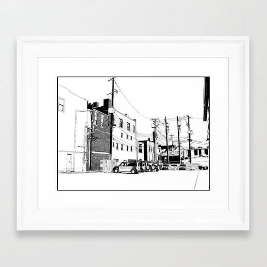 bloomington II Framed Art Print