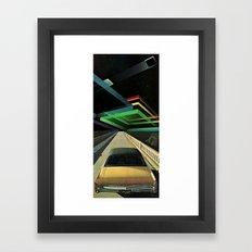 no cars go... Framed Art Print