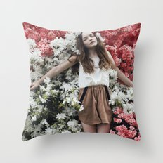 Emily in Reverie Throw Pillow