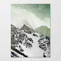 Là-haut Canvas Print