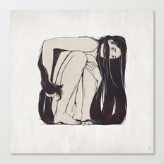 My Simple Figures: The Square Canvas Print