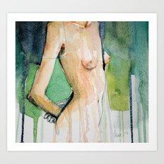 Headless Nude Art Print